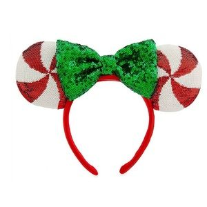 Minnie Mouse Peppermint Candy Ear Headband